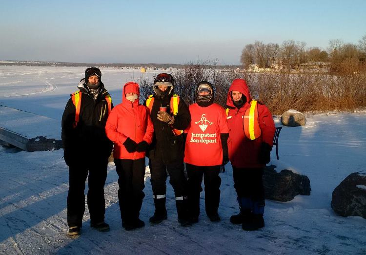 Lake Simcoe Ice Fishing Derby Event Team