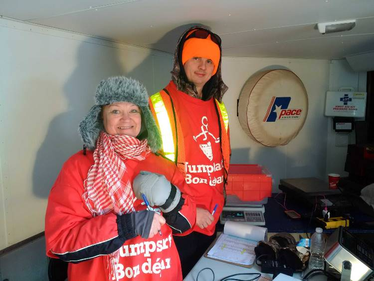 Lake Simcoe Ice Fishing Derby Weigh-In Crew